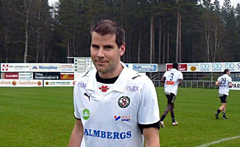 Jubilar: Sympatiske Stefan Rodevåg gör sin 300:e match för Falkenberg. Bilden tagen vid en match i Svenska Cupen i Myresjö år 2008.