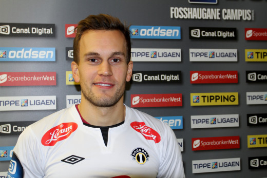 Logi Valgardsson (Foto: Sogndal IL)