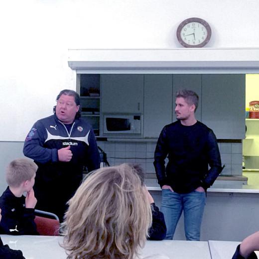 Håkan Juhlin och Daniel Björnqvist