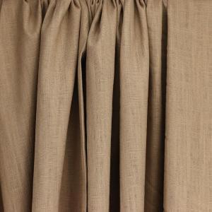 tissus Lin léane taupe © Eyrelles Tissus