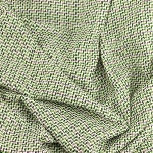 """Tissus Lainage """"Alma - Vert"""" © Eyrelles Tissus"""
