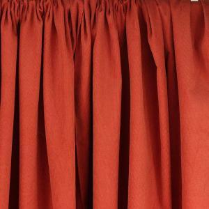 """Tissus Velours Milleraies """"Ambre - Brique"""" © Eyrelles Tissus"""