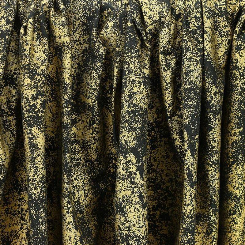 """Toile imprimée motif """"Gold"""" © Eyrelles Tissus"""