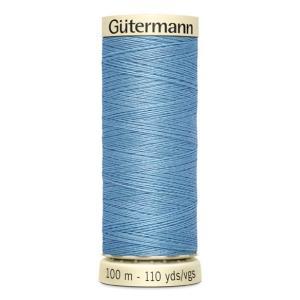 Fils Gütermann 100m couleur Bleu : 143 © Eyrelles Tissus