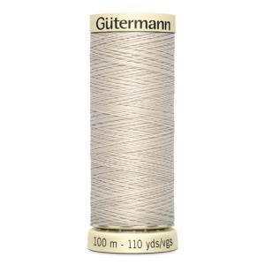 Fils Gütermann 100m couleur Beige: 299 © Eyrelles Tissus