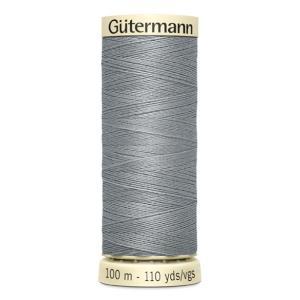 Fils Gütermann 100m couleur Gris : 40 © Eyrelles Tissus