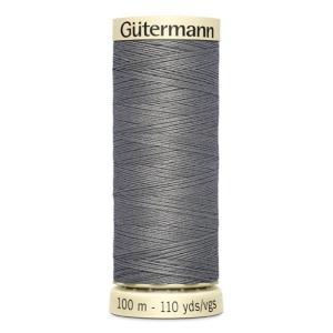 Fils Gütermann 100m couleur Gris : 496 © Eyrelles Tissus