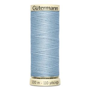 Fils Gütermann 100m couleur Bleu : 75 © Eyrelles Tissus