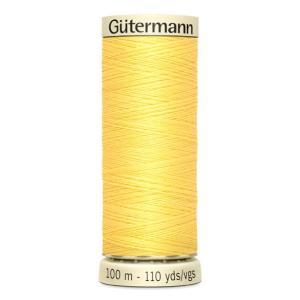 Fils Gütermann 100m couleur Jaune : 852 © Eyrelles Tissus