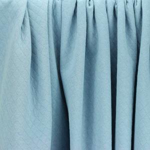"Tissus Molleton ""Osange - Bleu ciel"" © Eyrelles Tissus"