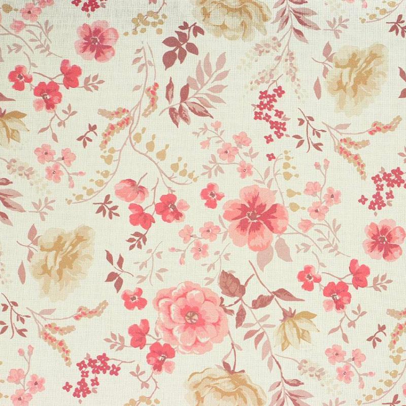 Tissu coton imprimé digital popeline Rosalia © Eyrelles Tissus
