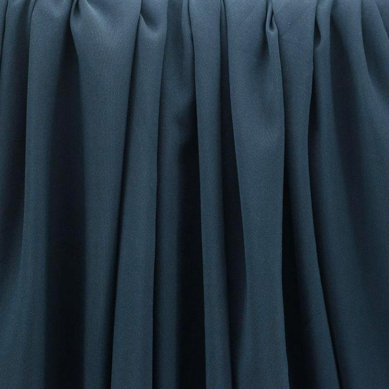 "Tissu viscose uni ""Bleu marine"" © Eyrelles Tissus"