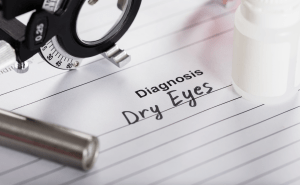 Doctor diagnosis of dry eyes