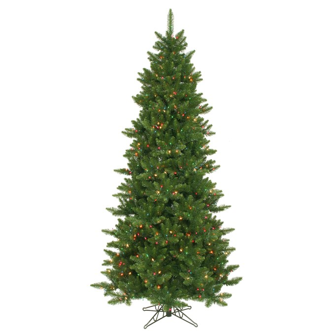8.5ft Slim Christmas Tree Clearance Sale A860882