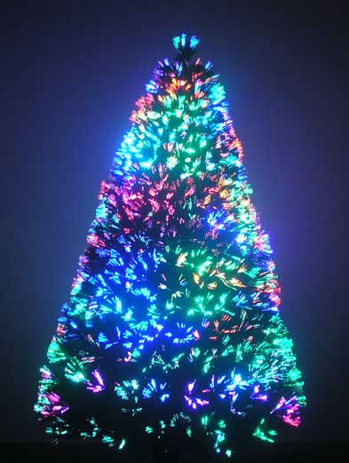 9 Foot Fiber Optic Christmas Tree Sale