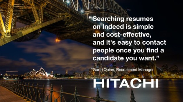 How to Reach Qualified Candidates for Any Job  Free Webinar     Hitachi Construction Machinery in Australia uses Indeed Resume to find  great candidates
