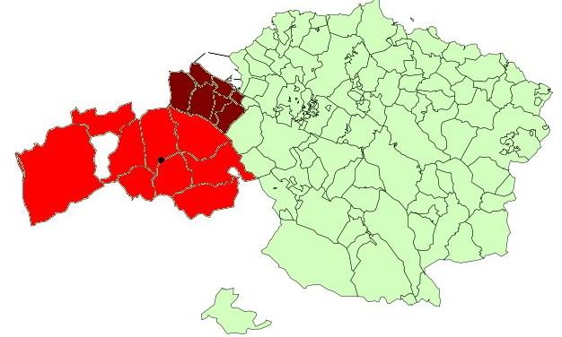 Baracaldo, Cantabria y las Encartaciones