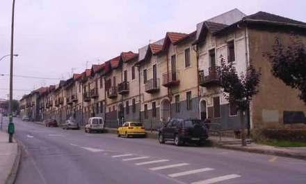 Altos Hornos y vivienda obrera