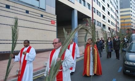 Marchas palmeras en Barakaldo