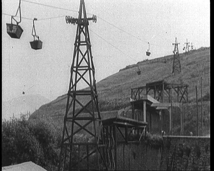 De la mina a la ría. El transporte del mineral
