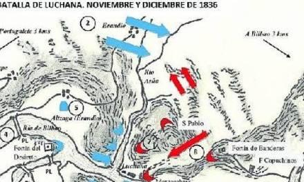Nochebuena de 1836: La batalla de Lutxana