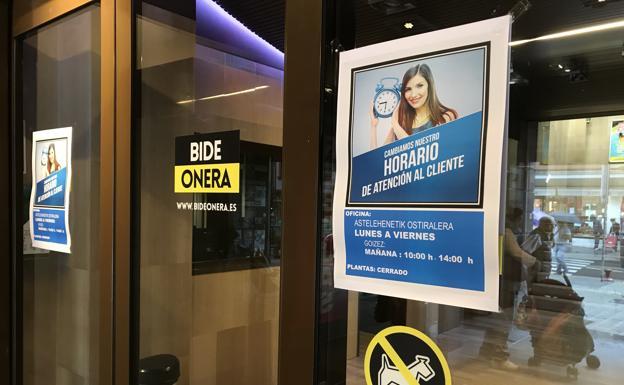 Bide Onera reduce su plantilla en casi un tercio y cierra las plantas de moda en Barakaldo