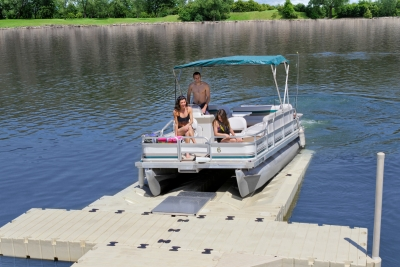 Ez Dock - Pontoon Lift