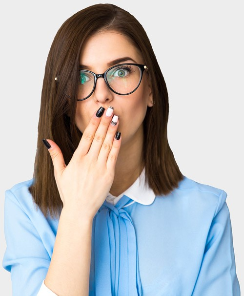 Shocked - Why don't people brush their teeth more often?