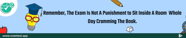 Exam Is Not A Punishment, Ezeetest, Ezeetest app