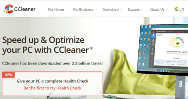 CCleaner Windows cleaning tool thumbnail