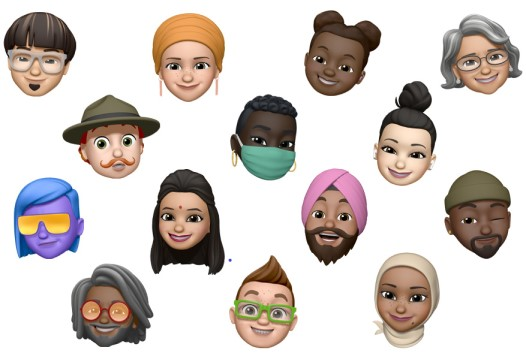 iOS 14 memoji sample