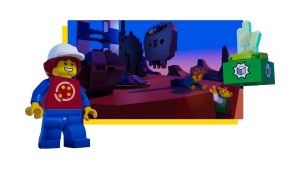 Build Your Own Video Game with LEGO Microgame