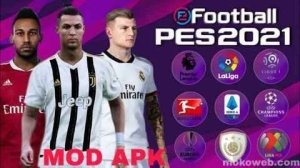 PES 2021 MOD APK 5.0.0 (efootball) OBB Data Download for Android