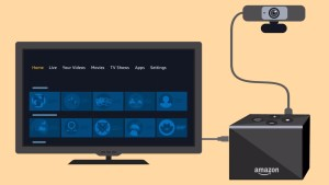 The Amazon Fire TV Cube Can Now Use USB Webcams for Living Room Video Calls