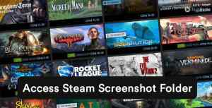 Ways to Access Steam Screenshot Folder & Change its Location (2021)