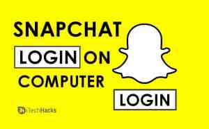 Secure Login To Snapchat Account On PC (Windows/MAC) 2020