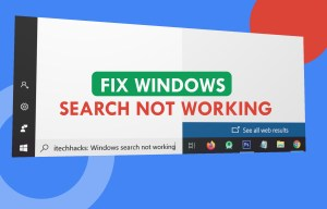 How To Fix Windows 10 Search Not Working in 2021
