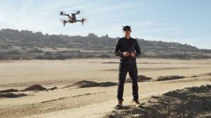 DJI's New FPV Drone Lets You Pilot With Flight Vision Goggles