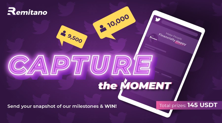 Remitano 145 USDT Capture the Moment Contest is Live! post thumbnail