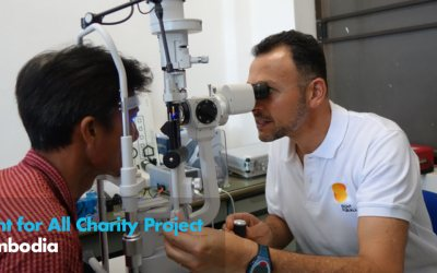 Sight for All Charity Project – Cambodia