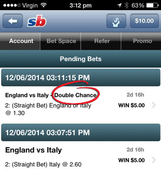 England vs Italy odds