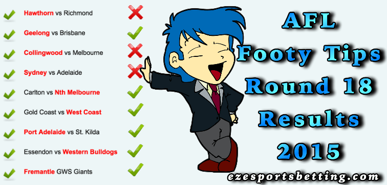 round 18 footy tips results
