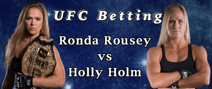 UFC Betting Ronda Rousey vs Holly Holm