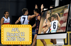 AFL Round 12 Tips 2019