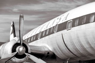 Lufthansa, Super Constellation, SW