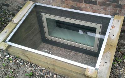 Installing an Egress Window Well
