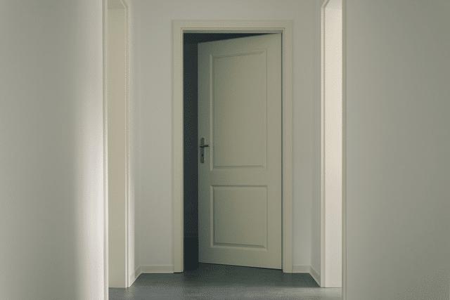 Speaking, fix door from swinging open