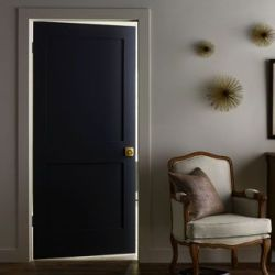 painted interior door