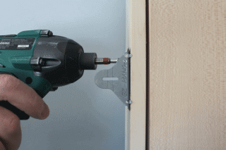 how to install a pre-hung door, ez-hang