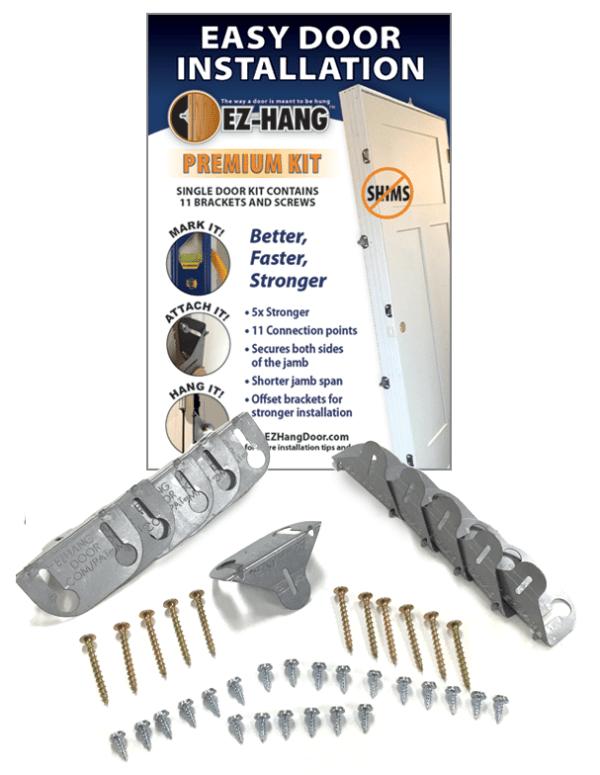Premium door installation kit